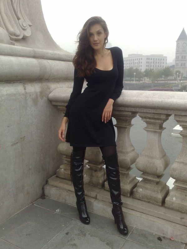 Aninanet Tianjin - Thigh High Boots Always Make You Sexy-8126
