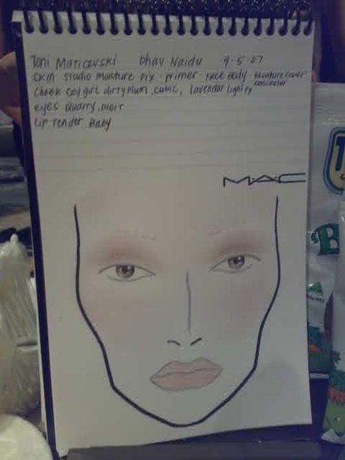 Toni Meticevski Makeup