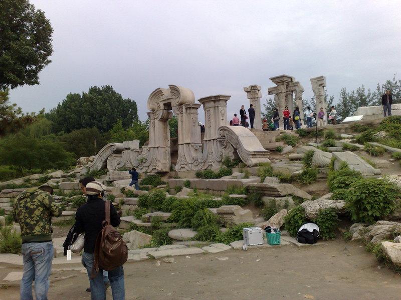 china ruins park beijing