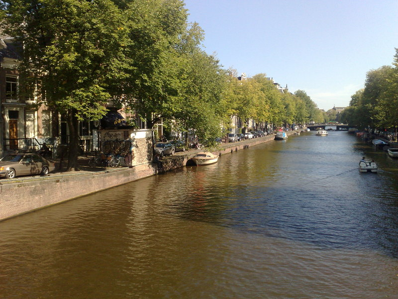 scenes from sunny amsterdam