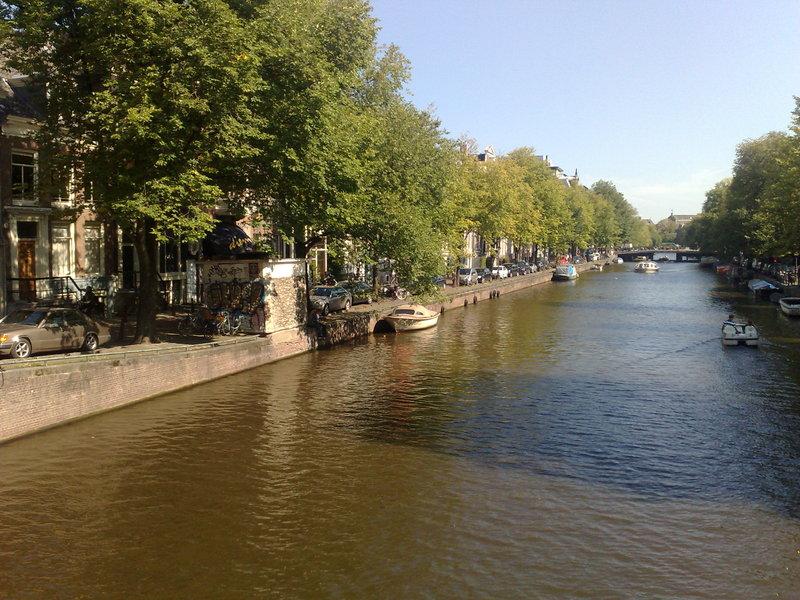 scenes from sunny amsterdam