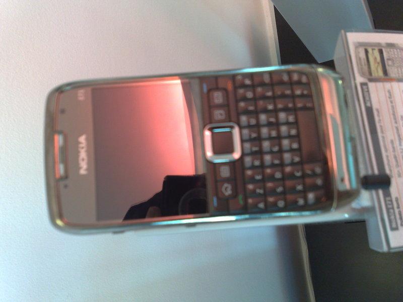 nokia e series phone -lionel Dejean phone