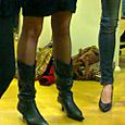 Cow boy boots and pumps